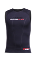 Picture of CYCLONE2 SURF VEST BLACK