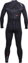 Picture of CYCLONE2 BLACK BACKZIP FULL SUIT